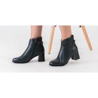 Женские кожаные ботильоны – универсальная обувь