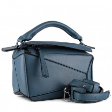 Сумка женская синяя бренд Brocoli