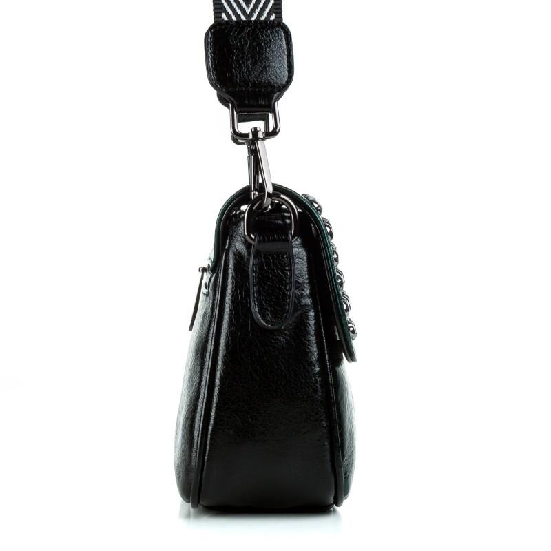 Сумка жіноча крос-боді смарагдова Oliaver