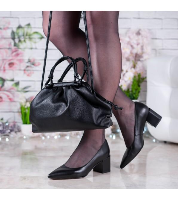 Жіноча сумка маленька чорна стильна Oliaver