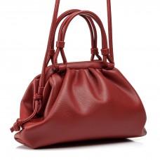 Женская сумка маленькая терракотовая стильная Oliaver
