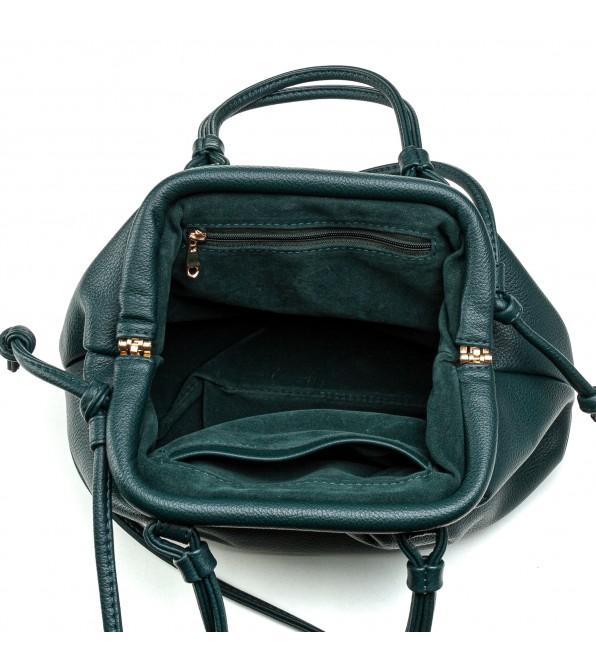 Жіноча сумка маленька бірюзова стильна Oliaver