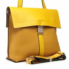 Сумка женская желтая стильная Farfalla