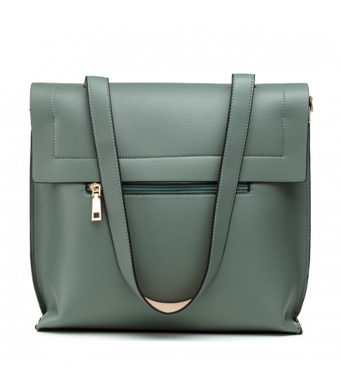 Сумка жіноча зелена стильна Farfalla