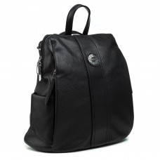 Рюкзак жіночий  чорний молодіжний Polina