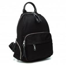 Рюкзак черный плащевка городской молодежный Oliaver