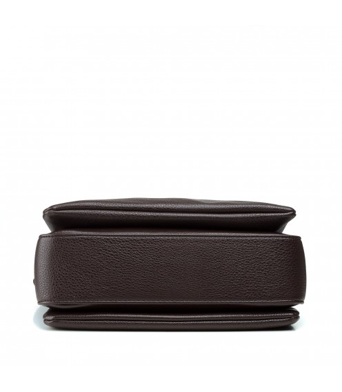 Сумка жіноча колір шоколад, зручна, якісні Polina