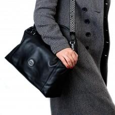 сумка большая черная Polina