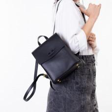Рюкзак женский черный с емблемой Oliaver