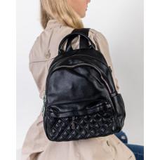 Рюкзак женский городской черный Farfalla