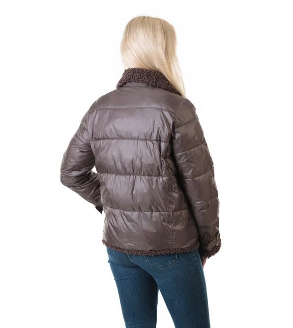 Куртка жіноча коричнева Vivi lona