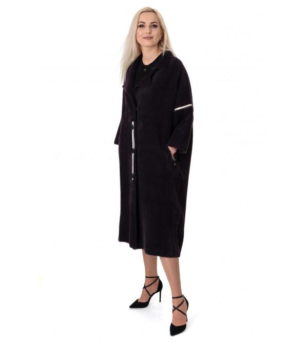 Кардиган-пальто жіноче три четверті рукав до колін літачок