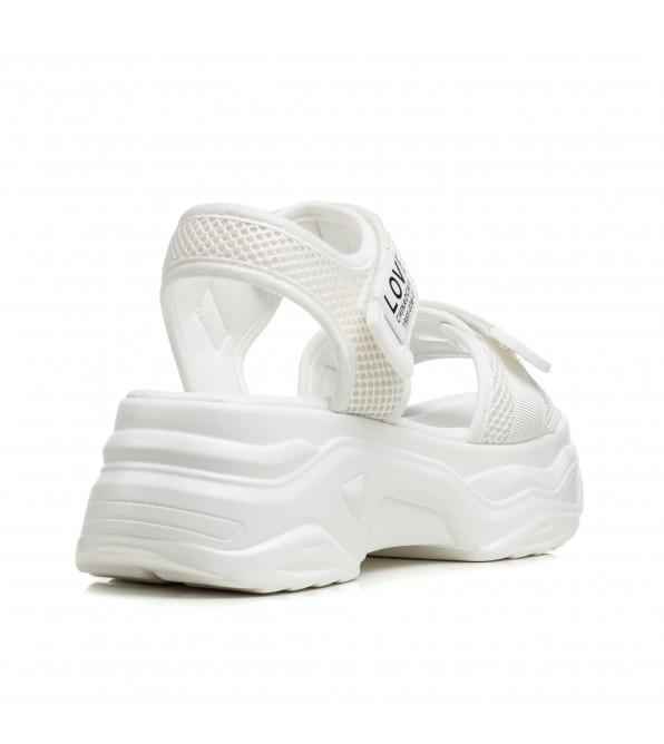 Босоніжки жіночі білі спортивні Aiformaria