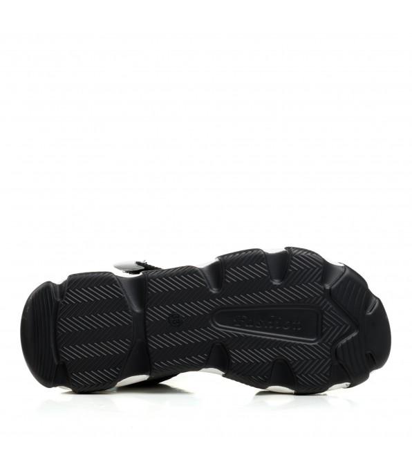 Босоніжки жіночі чорні спортивні Lifexpert