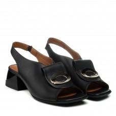 Босоножки женские кожаные на каблуке Mario muzi
