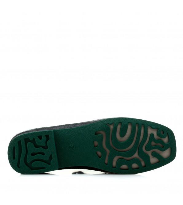 Туфлі жіночі шкіряні на низькому ходу комфортні Sufinna