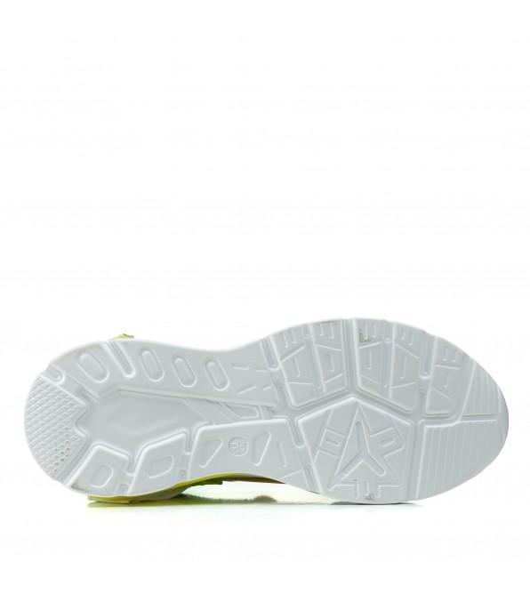 Кросівки жіночі білі комфортні на платфорні Farinni