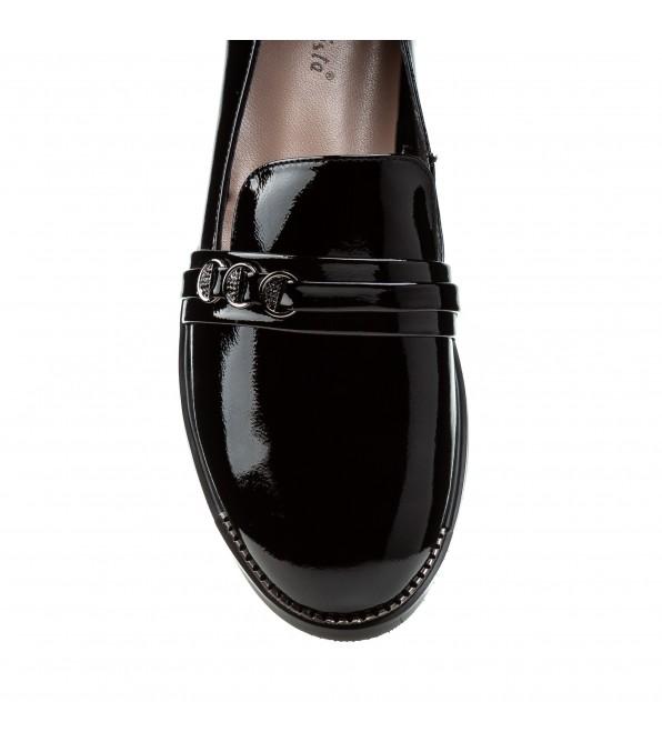 Туфлі жіночі лакові на низькому ходу BELLAVISTA