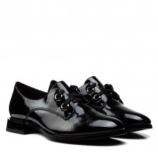 Туфли женские лаковые на низком каблуке BELLAVISTA