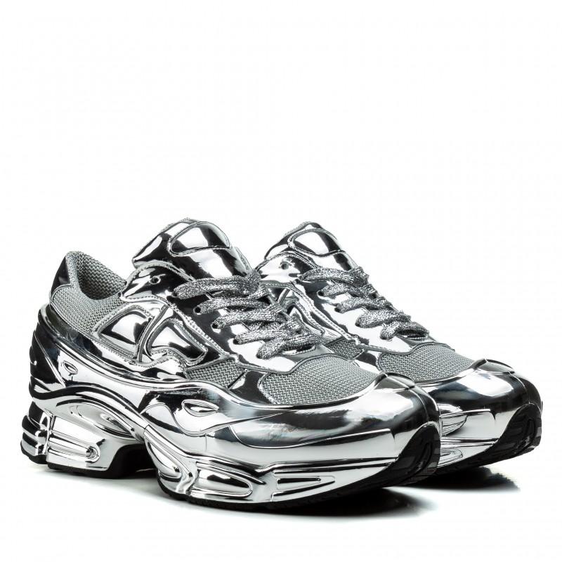 Кросівки жіночі срібні на платформі Gifanni