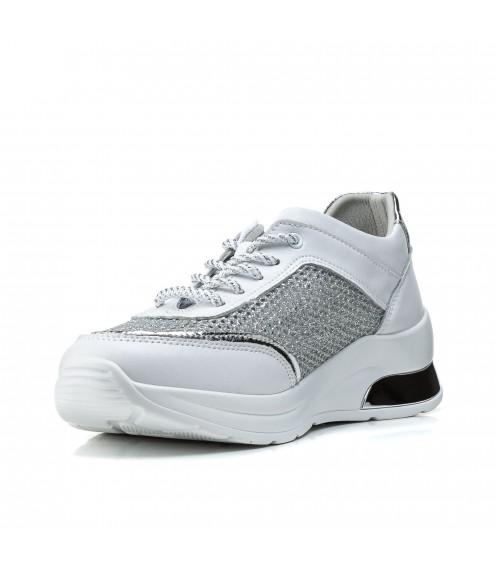 Кросівки жіночі білі на  платформі комфортні Lifeexpert
