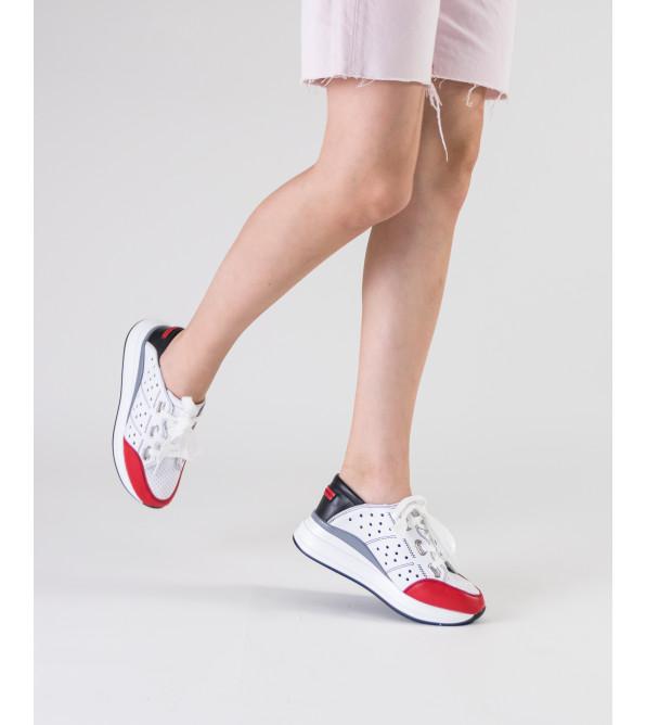 Кросівки жіночі білі літні Lifeexpert