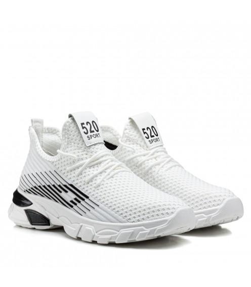 Кросівки жіночі білі літні на платформі Linda