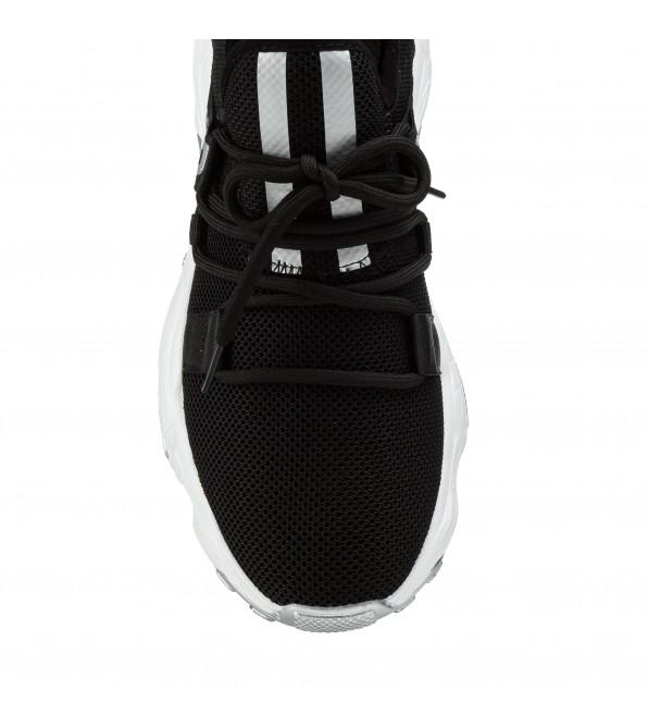 Кросівки жіночі чорні на високій платформі V.I.Konty