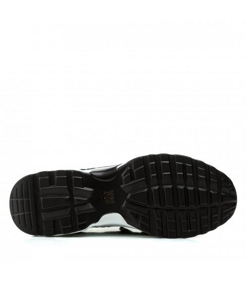 Кросівки жіночі чорні на танкетці літні Vikonty