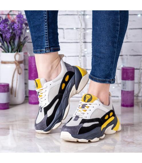Жіночі кросівки Lifexpert на зручній підошві стильні модні на шнурівках