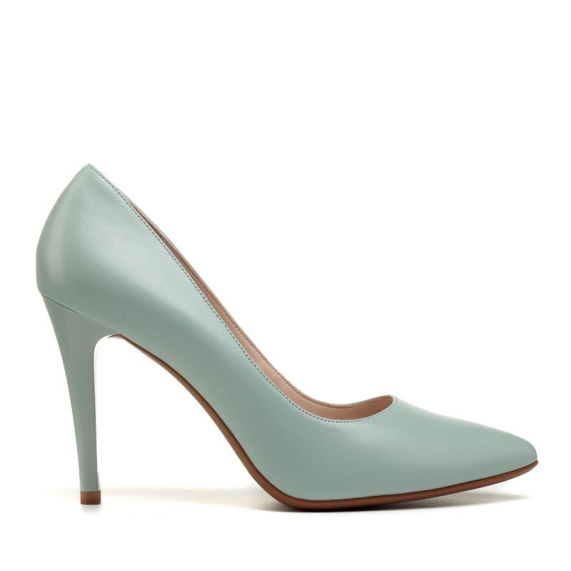 Туфлі лодочки жіночі шкіряні на шпильці Lady marcia