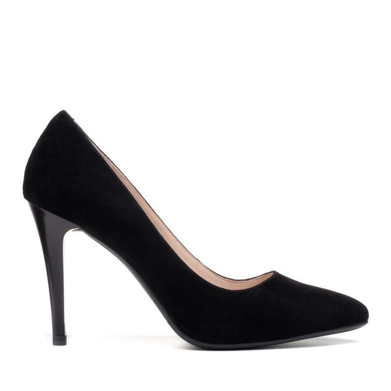 Туфлі жіночі замшеві на шпильці Lady marcia
