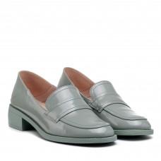 Туфли кожаные на широком низком каблуке Lady marcia