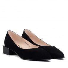 Туфли женские замшевые на низком каблуке Lady marcia
