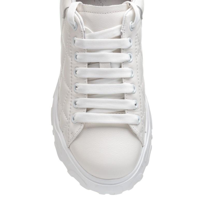 Кросівки білі на високій підошві Berkonty