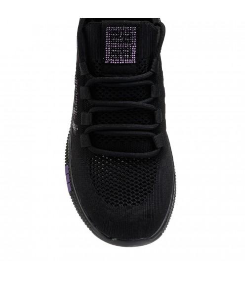 Кросівки жіночі літні чорні Lifexpert