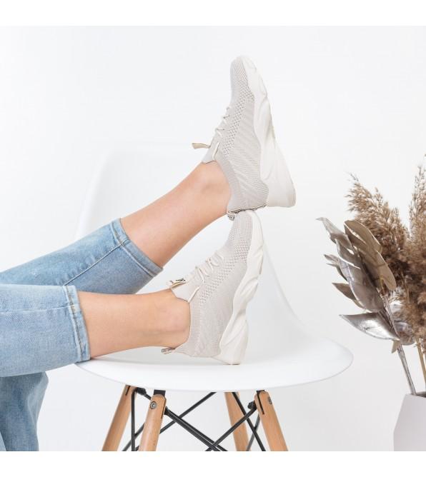 Кросівки текстильні бежеві Lifexpert