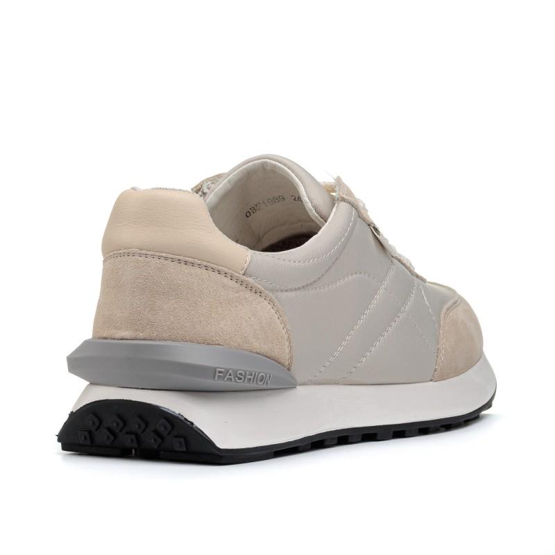 Кросівки жіночі бежеві на платформі Lifexpert