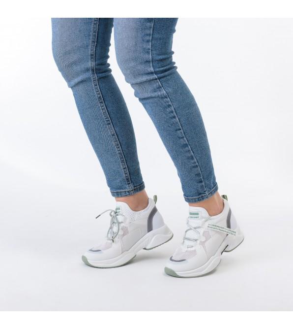 Кросівки жіночі білі літні в сіточку Lifexpert