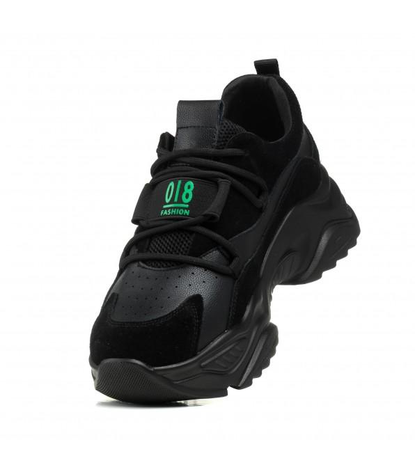 Кросівки жіночі чорні спортивні Lifexpert