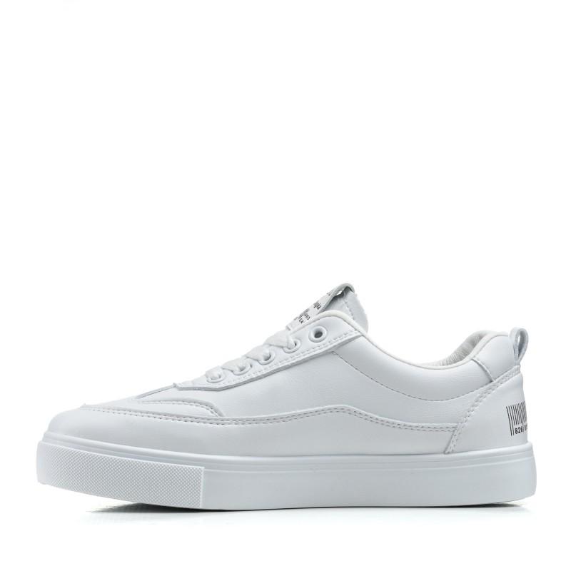Кеди жіночі білі на шнурках Linda
