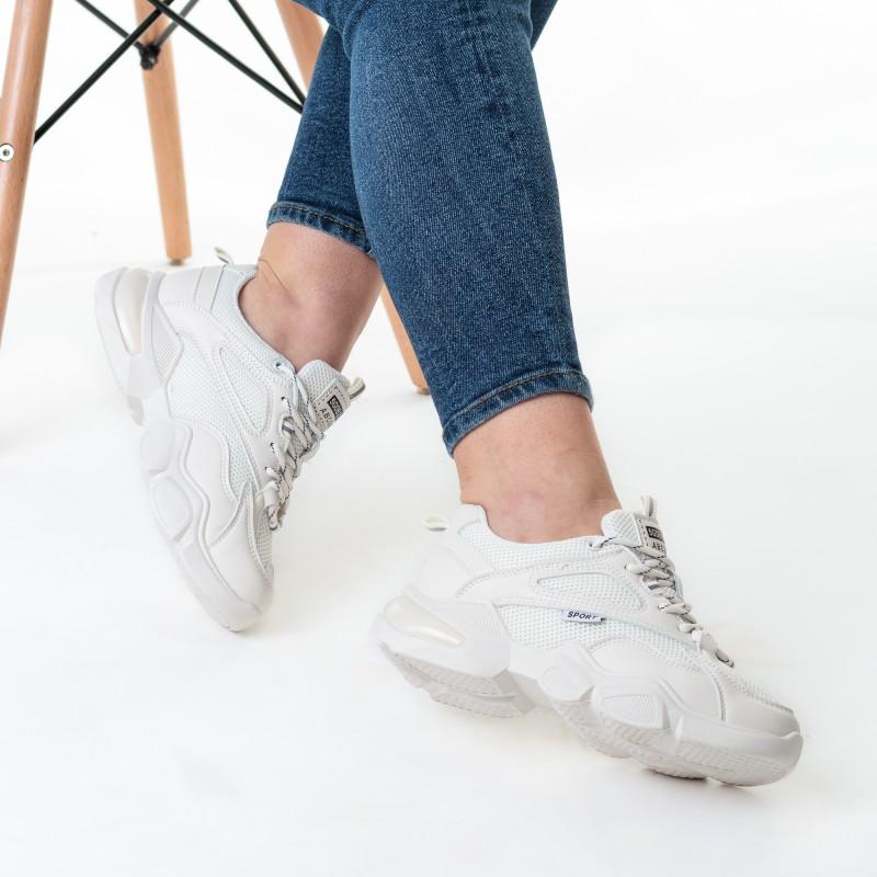 Кросівки для бігу молочні Linda