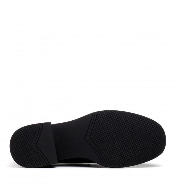 Туфлі  - лофери жіночі шкіряні на низькому ходу Mantyyra