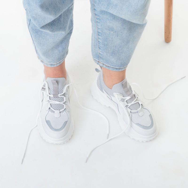 Кросівки текстильні на високій підошві Nadi bella