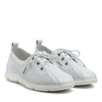 Туфли женские белые летние Lifexpert