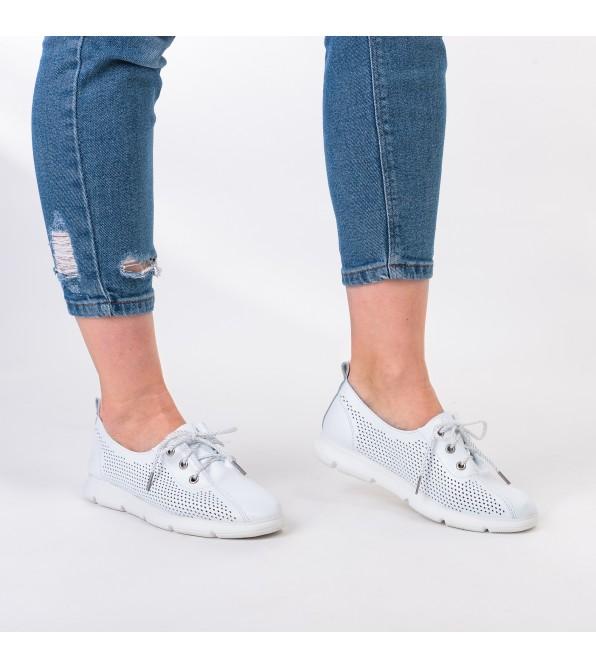 Туфлі жіночі білі літні Lifexpert