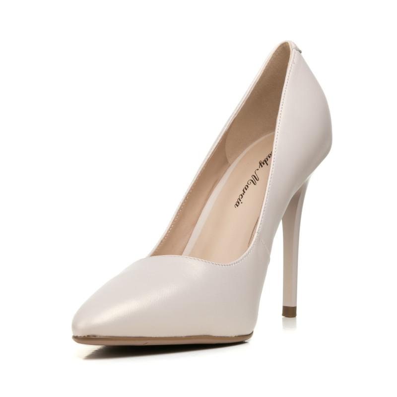 Туфлі жіночі човники перламутрові на шпильці Lady marcia