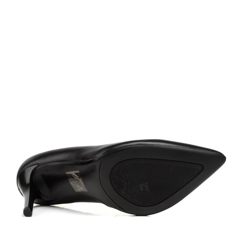Туфлі жіночі човники чорні на шпильці Lady marcia