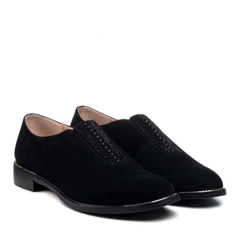 Туфлі жіночі замшеві на низьому ходу Bellavista