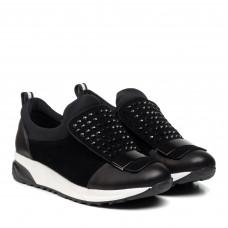 Туфли женские черные с декором Bellavista